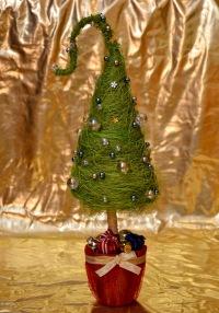 Новогодний дерево счастья своими руками