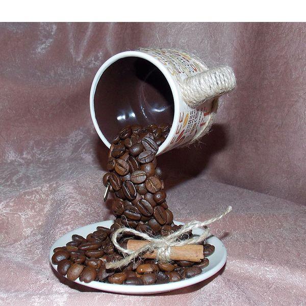 Поделка из кофе и чашки