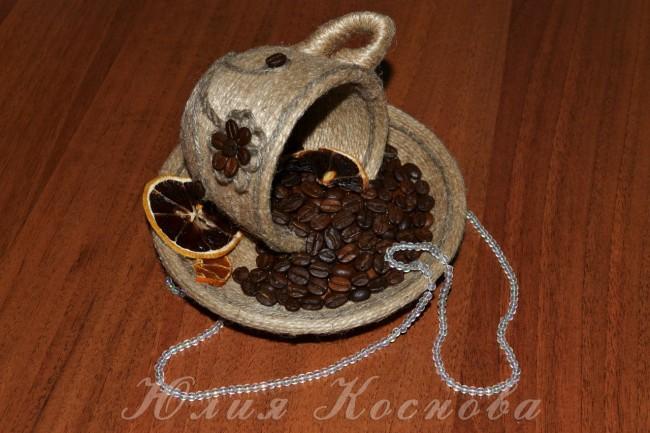 Поделки из кофе и лент своими руками - Parus-murman.ru