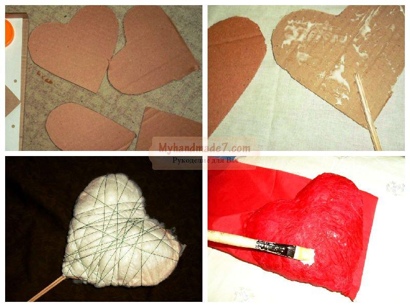 Как сделать сердце из мастер класс 367