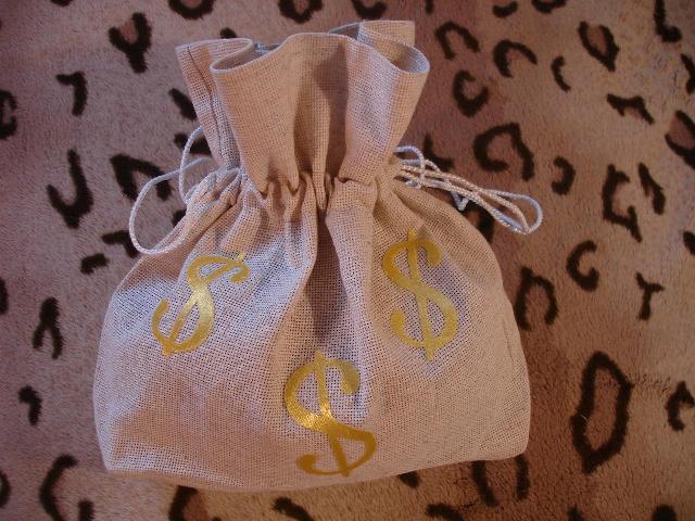 Мешочки для денег на свадьбу