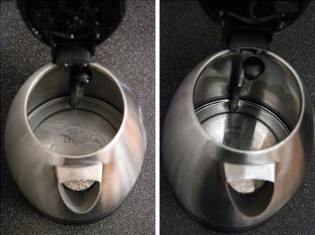 Как отмыть электрочайник в домашних условиях