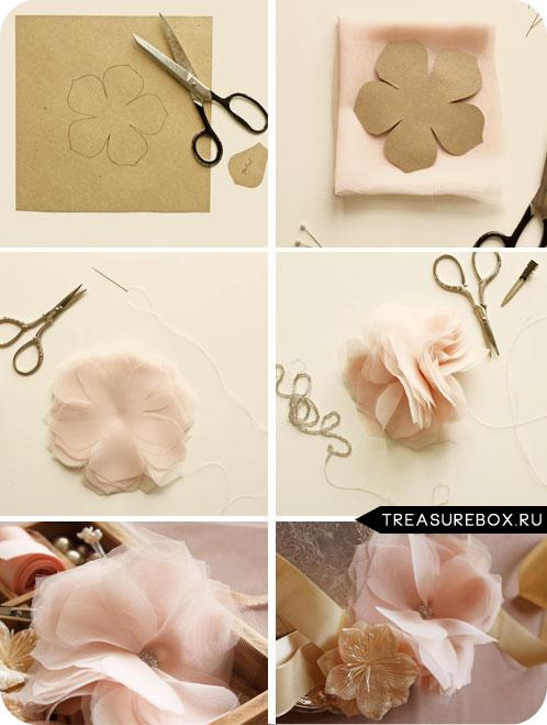 Цветок своими руками из бумаги пошаговая инструкция