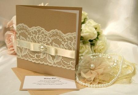 Оригинальные приглашения на свадьбу своими руками с
