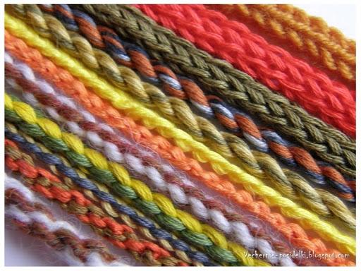 5 способов плетения шнуров.