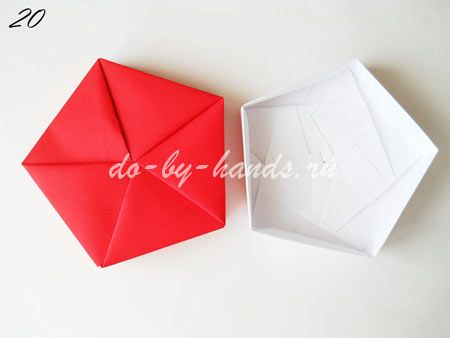 шкатулка из бумаги своими