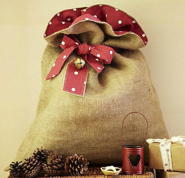Подарочный мешок своими руками