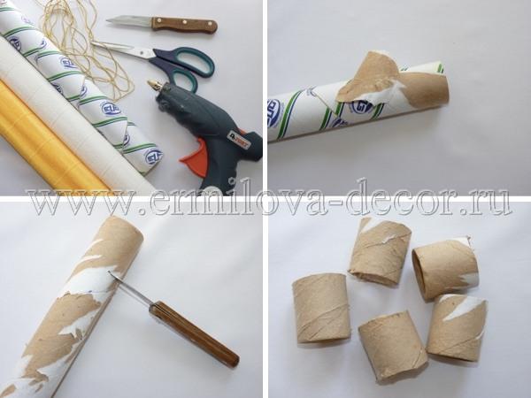 Как сделать своими руками подставку для салфеток