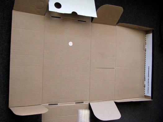 Упаковочную коробку своими руками