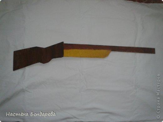 Как сделать ружье из мастики мастер класс