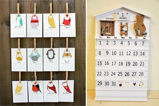 Как сделать календарь из фото своими руками