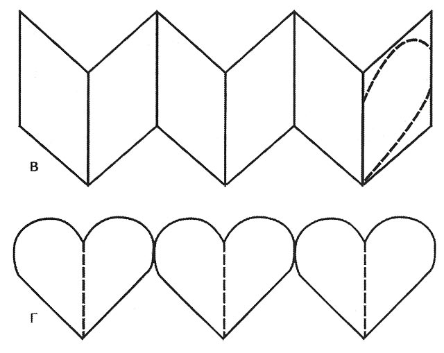 Как сделать валентинку своими руками из бумаги