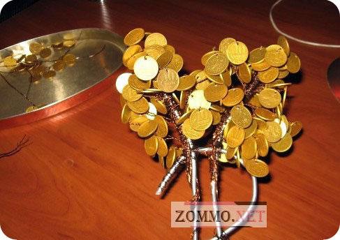 Как своими руками сделать денежное дерево из денег
