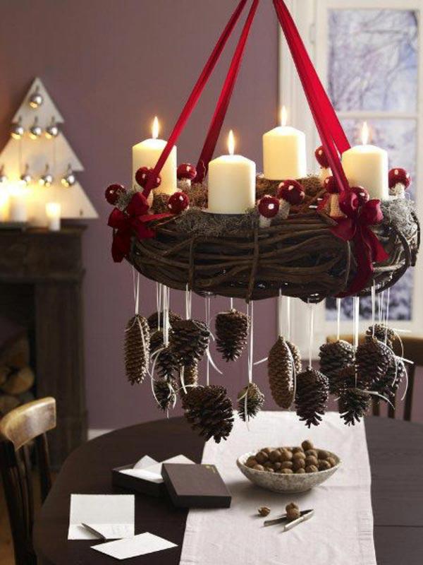 Рождественские декоры своими руками