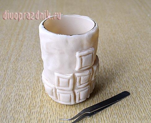 Из соленого теста своими руками вазы