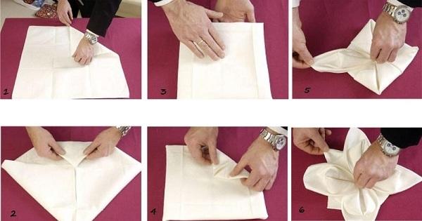 Оформление из бумажных салфеток своими руками