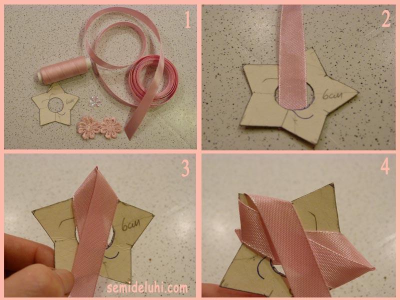 Как сделать из тонких ленточек игрушку