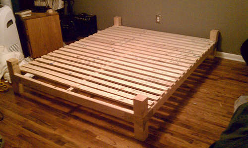 Ремонт кровать своими руками