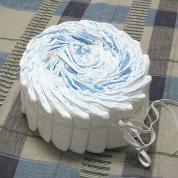 Торты из памперсов своими руками как делать
