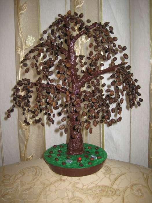 Кофейное дерева своими руками с фото
