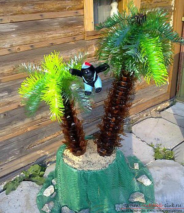 Как сделать пальму своими руками фото