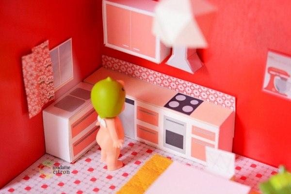 Как сделать лёгкую мебель для кукол своими руками