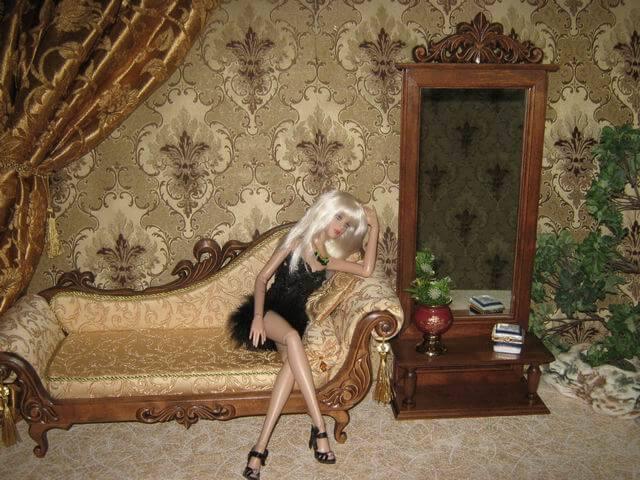 Фото кукольная мебель своими руками