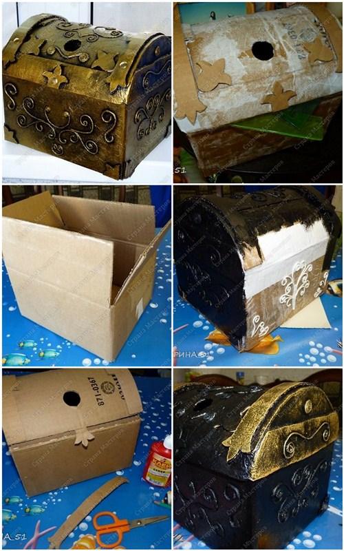 Поделки из коробки из под обуви своими руками
