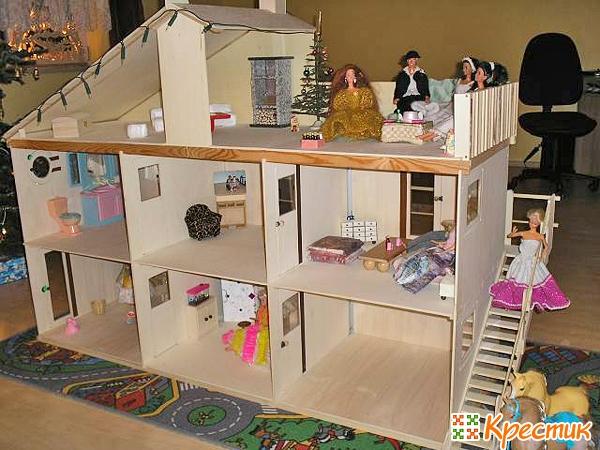 Дом из фанеры своими руками