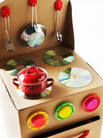 Как сделать игрушечную мебель для ребенка