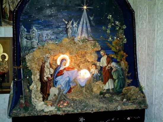 Вертепы на рождество своими руками
