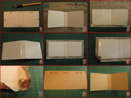 Простой блокнот своими руками мастер класс для начинающих 8