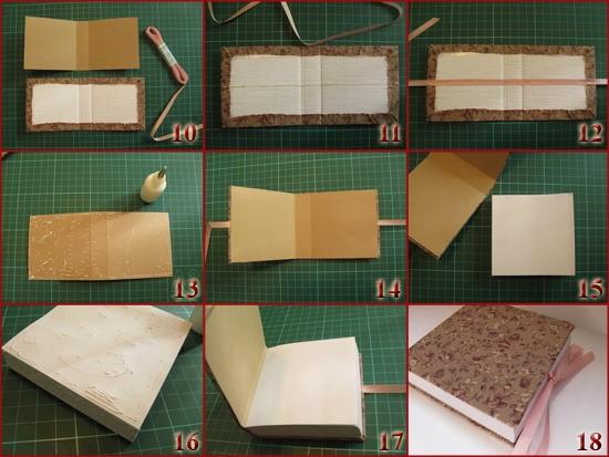 Как своими руками сделать блокнот из бумаги