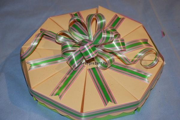Подарки своими руками на день рождения торт