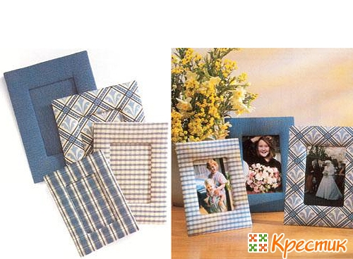 Рамки из ткани для фото своими руками