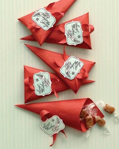 Упаковка конфет новогодняя своими руками