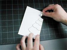 Как сделать новогодняя открытка своими руками