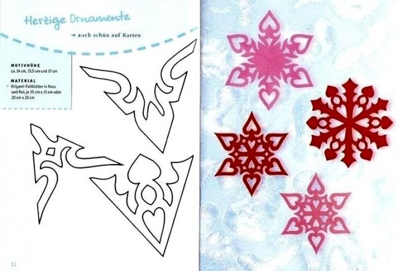 Гирлянды из бумаги своими руками схемы шаблоны