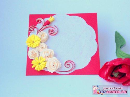 Как сделать своими руками открытку на день рождения тёте
