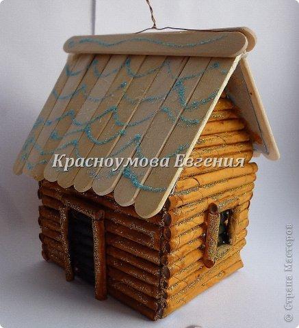 Игрушки из бумаги домик