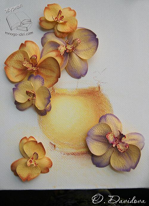 Цветы из фоамирана своими руками мастер классы