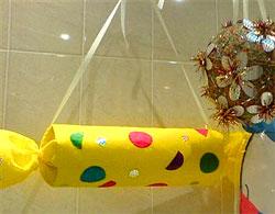 Новогодние большие игрушки своими руками из бумаги