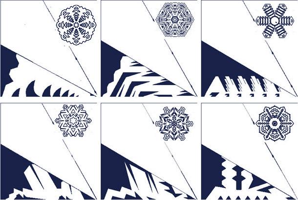 Новогодние снежинки из бумаги своими руками схемы распечатать