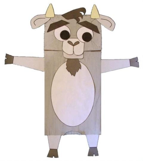 Символ года коза сделать