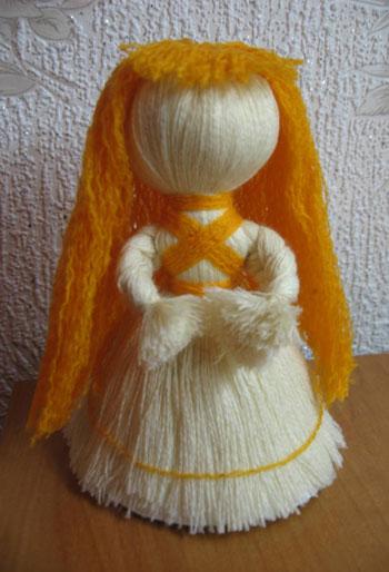 Куклы из ниток фото