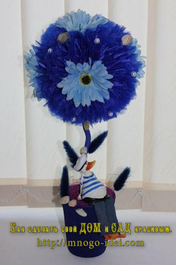 РингтонСделать цветы для топиарий своими руками
