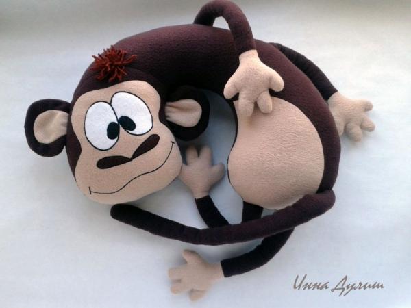 Подушки обезьяна своими руками