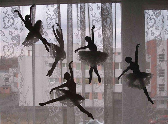 Украшение балерина своими руками