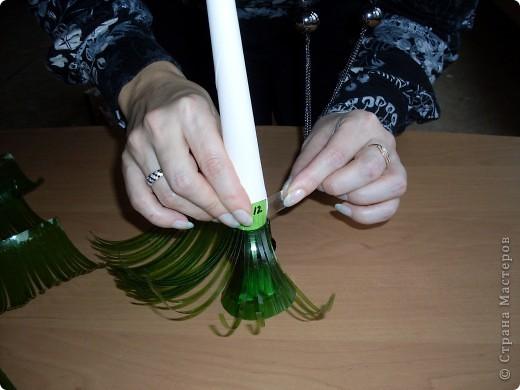 Как сделать ёлку из пластиковой бутылКак сделать