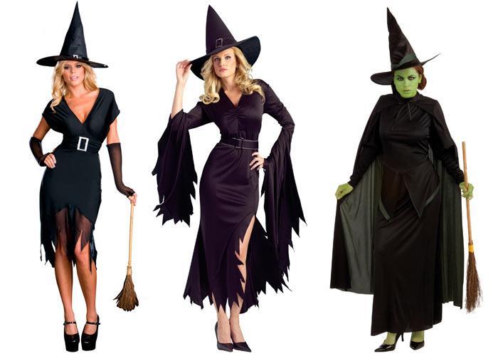Как сделать костюм ведьма своими руками
